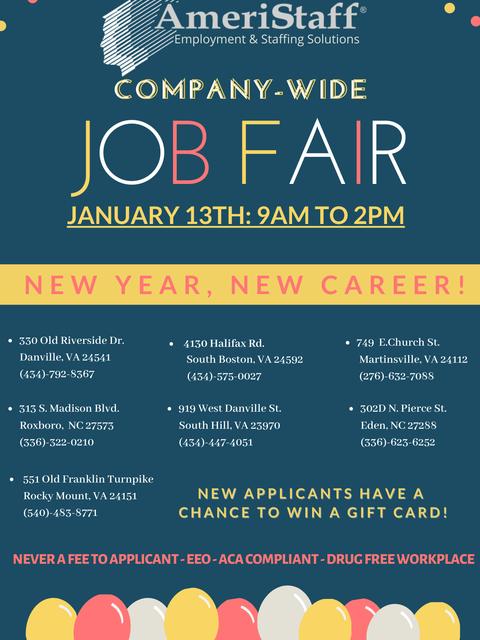 Company-Wide Job Fair