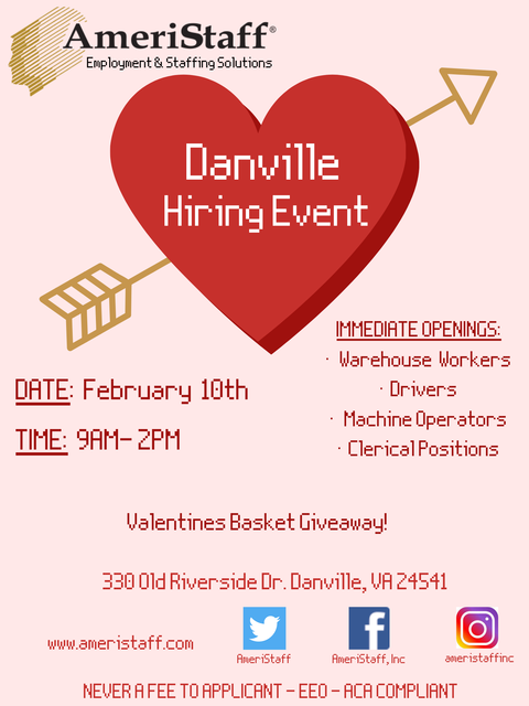 Danville Hiring Event