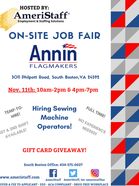 On-Site Job Fair at Annin