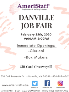 Job Fair in Danville, VA
