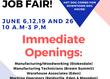 In-House Job Fair at AmeriStaff in Eden