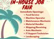 In House Job Fair in Rocky Mount, VA