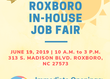 In House Job Fair at AmeriStaff in Roxboro, NC