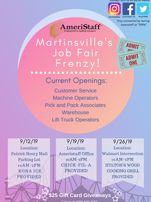Martinsville Job Fair Frenzy